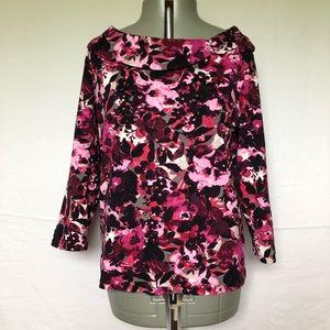 Rafaella Women's Size XL Top Knit Shirt Cotton